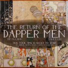 SIGNED Janet Lee - Return of Dapper Men / Mouse Guard Promo Poster - Comic Con 2010