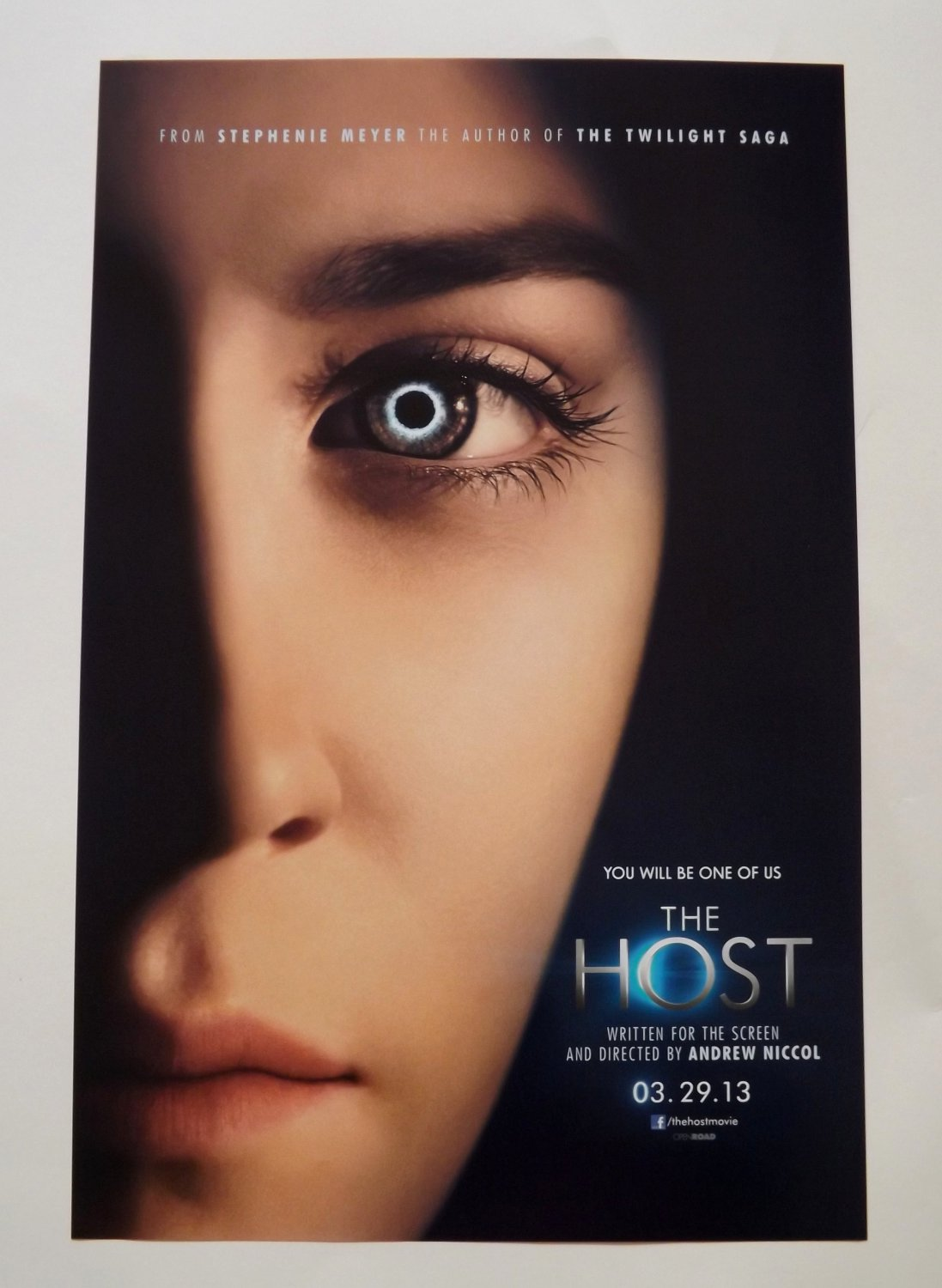 Rare THE HOST Promo Poster SDCC Comic Con 2012 - Stephenie Meyer - Andrew Niccol