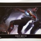 IRON MAN 3 Promo Poster Concept Art - Marvel - SDCC Comic Con 2012