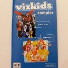 VIZ KIDS SAMPLER Promo Booklet - 2012 SDCC Comic Con - Winx, Voltron, Redekai