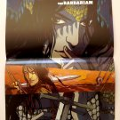 CONAN / THE MASSIVE DS Promo Poster - Dark Horse Comics SDCC Comic Con 2012
