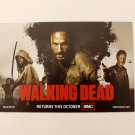 AMC -WALKING DEAD Promo Card - 2012 SDCC Comic Con