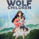 Mamoru Hosoda WOLF CHILDREN Funimation 11x17 Promo Poster - SDCC 2013 Anime Swag