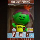Funko Fundays SDCC 2017 Freddy Funko Retro Green Neon Black Light LE 1/100