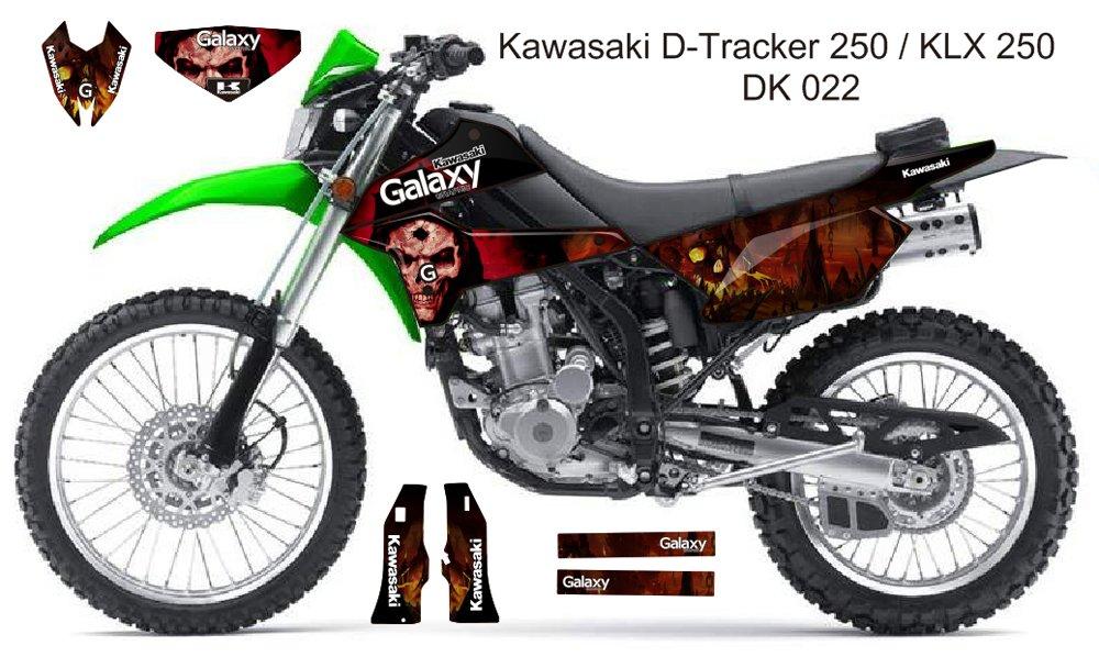KAWASAKI D TRACKER 250 / KLX 250 GRAPHIC DECAL KIT CODE.DK 022