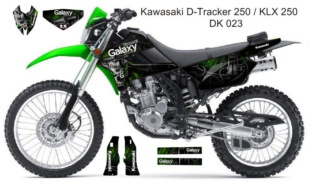 KAWASAKI D TRACKER 250 / KLX 250 GRAPHIC DECAL KIT CODE.DK 023