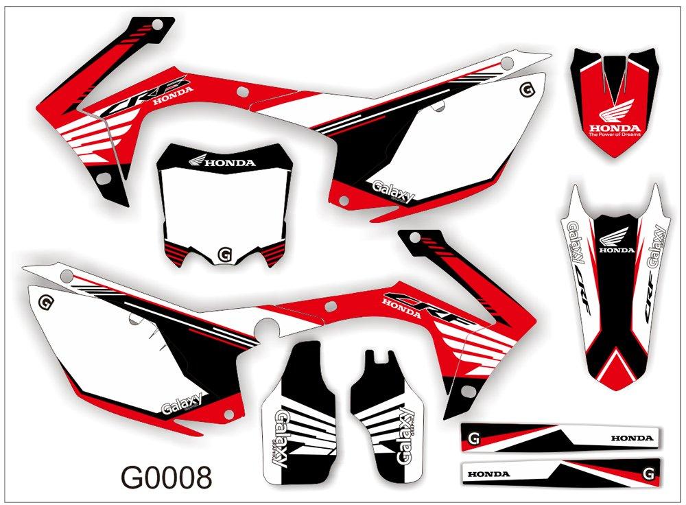 HONDA CRF 250-450 2013-2014 GRAPHIC DECAL KIT CODE.G0008