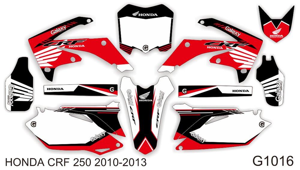 HONDA CRF 250 2010-2013 GRAPHIC DECAL KIT CODE.G1016