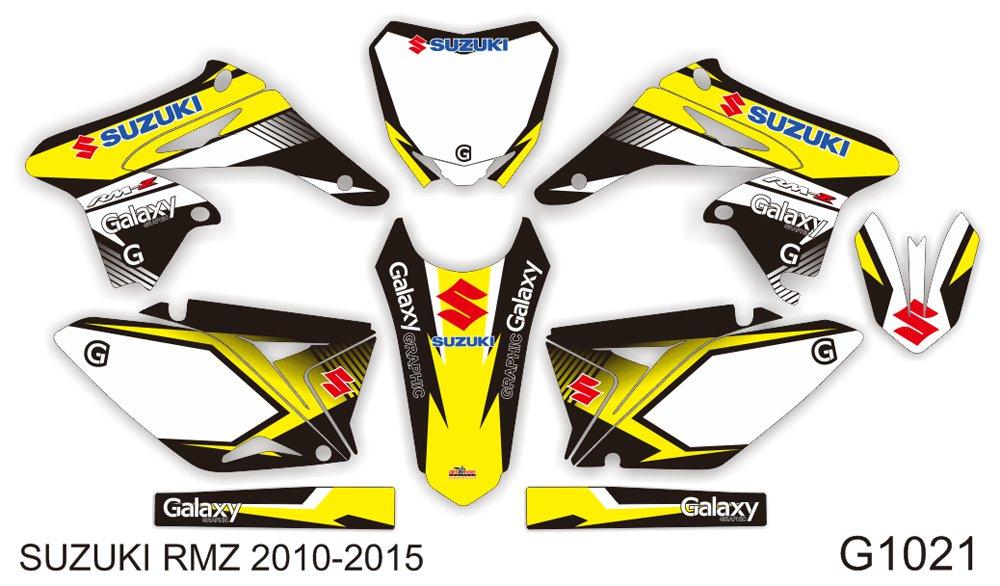SUZUKI RMZ 250 2010-2015 GRAPHIC DECAL KIT CODE.G1021