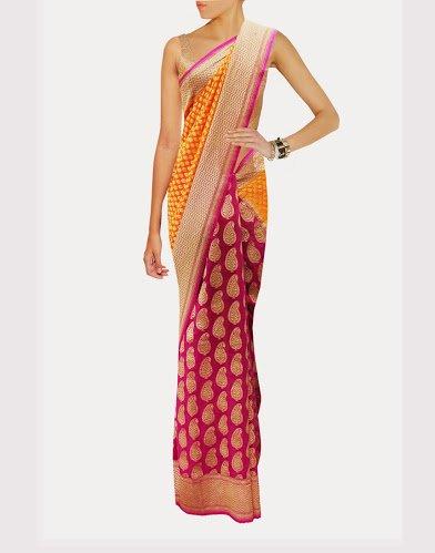 Stylish Traditional Partywear Designer Banarasi Saree