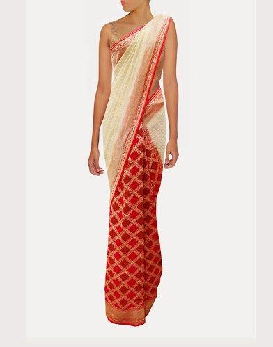 Trendy Traditional Designer Partywear Banarasi Saree