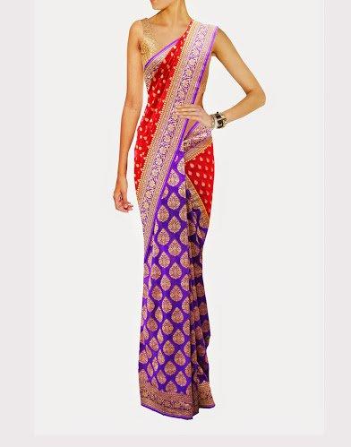 Stunning Traditional Partywear Bridal Designer Banarasi Saree
