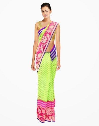 Dazzling Partywear Traditional Designer Handloom Net Saree