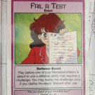 SAILOR MOON TRADING CARD # 60 ( FAIL A TEST)