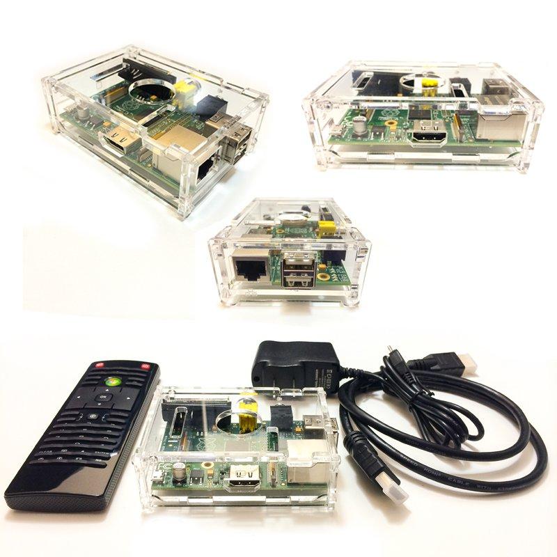 rPiBoxTv - HD 1080p Streaming Media Player