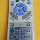 REMOTE CONTROL FOR NEC PROJECTOR vt560 vt50