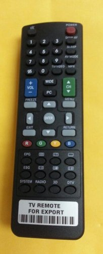 COMPATIBLE REMOTE CONTROL FOR SHARP TV RC2444206/01 LC-32SB28UT LC-47SB57UT
