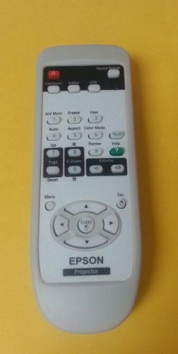 COMPATIBLE REMOTE CONTROL FOR EPSON PROJECTOR V11H454020 V11H455020 V11H456020