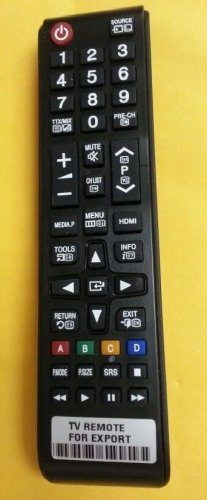 COMPATIBLE REMOTE CONTROL FOR SAMSUNG TV PN58A650 PN58A650T1F PN58A650T1FXZA