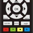 COMPATIBLE REMOTE CONTROL FOR PANASONIC DVD EUR7623X60 N2QAJA000001 DVD0S38