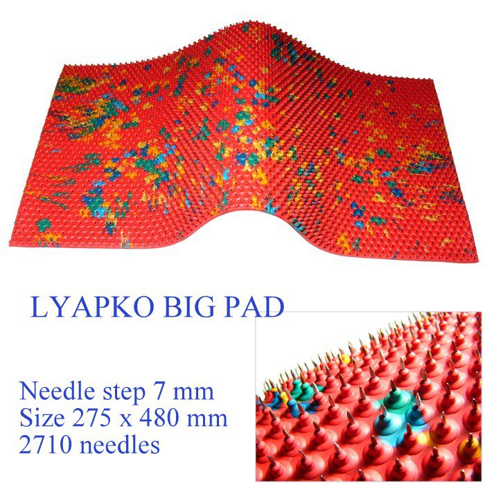 LYAPKO APPLICATION DEVICE BIG PAD. RUG. Acupuncture massager Needle Step 7 mm