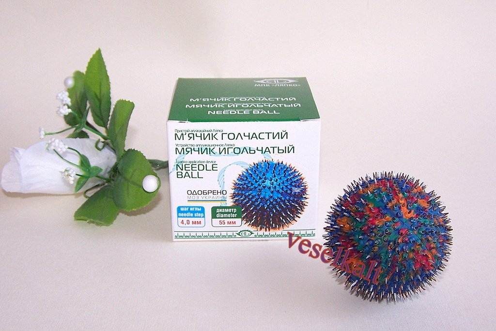 "LYAPKO APPLICATOR ""NEEDLE BALL"" Acupuncture massager."