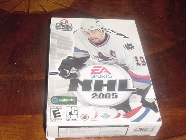 NHL 2005 PC game