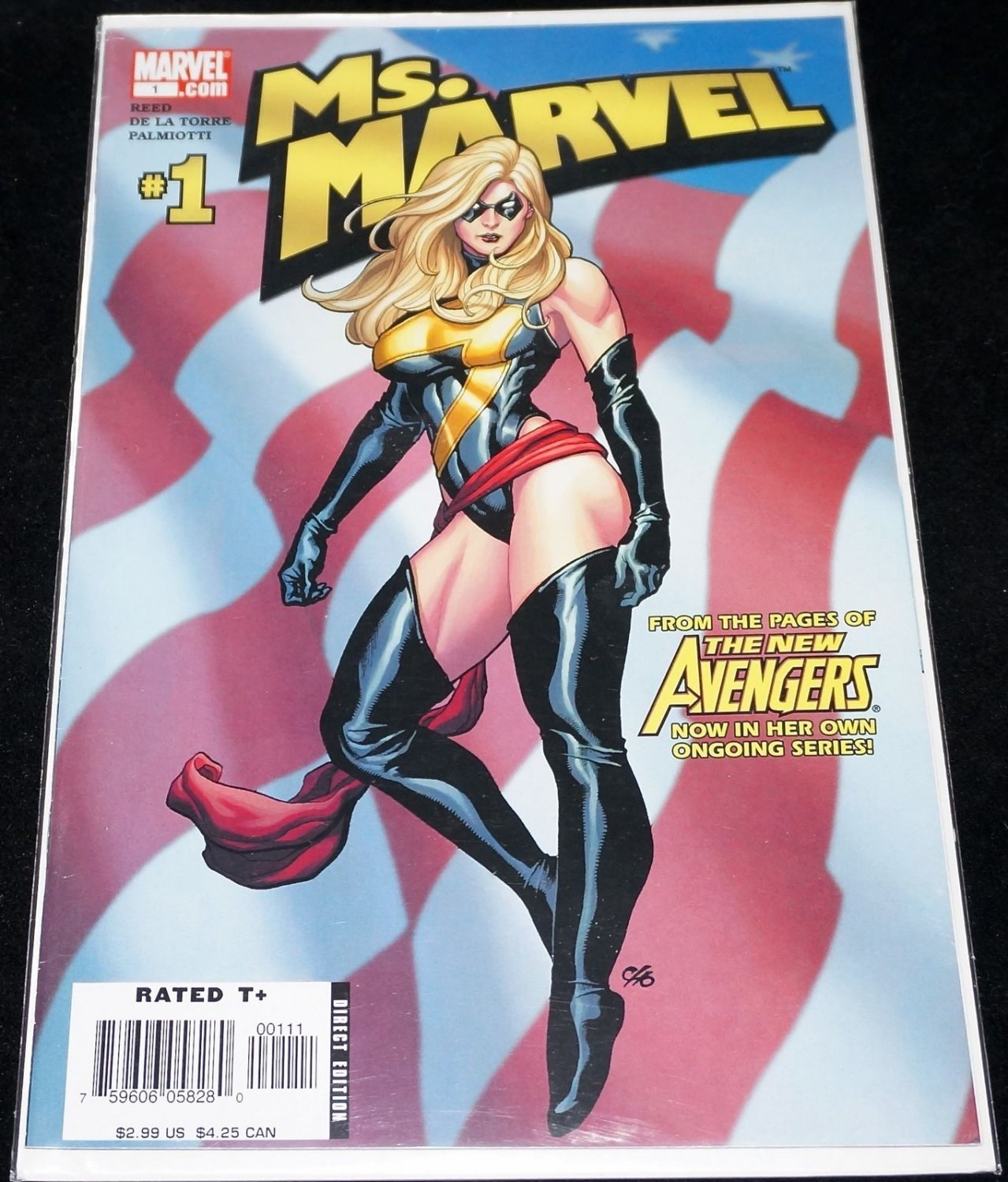 Ms. Marvel #1 (May 2006, Marvel)