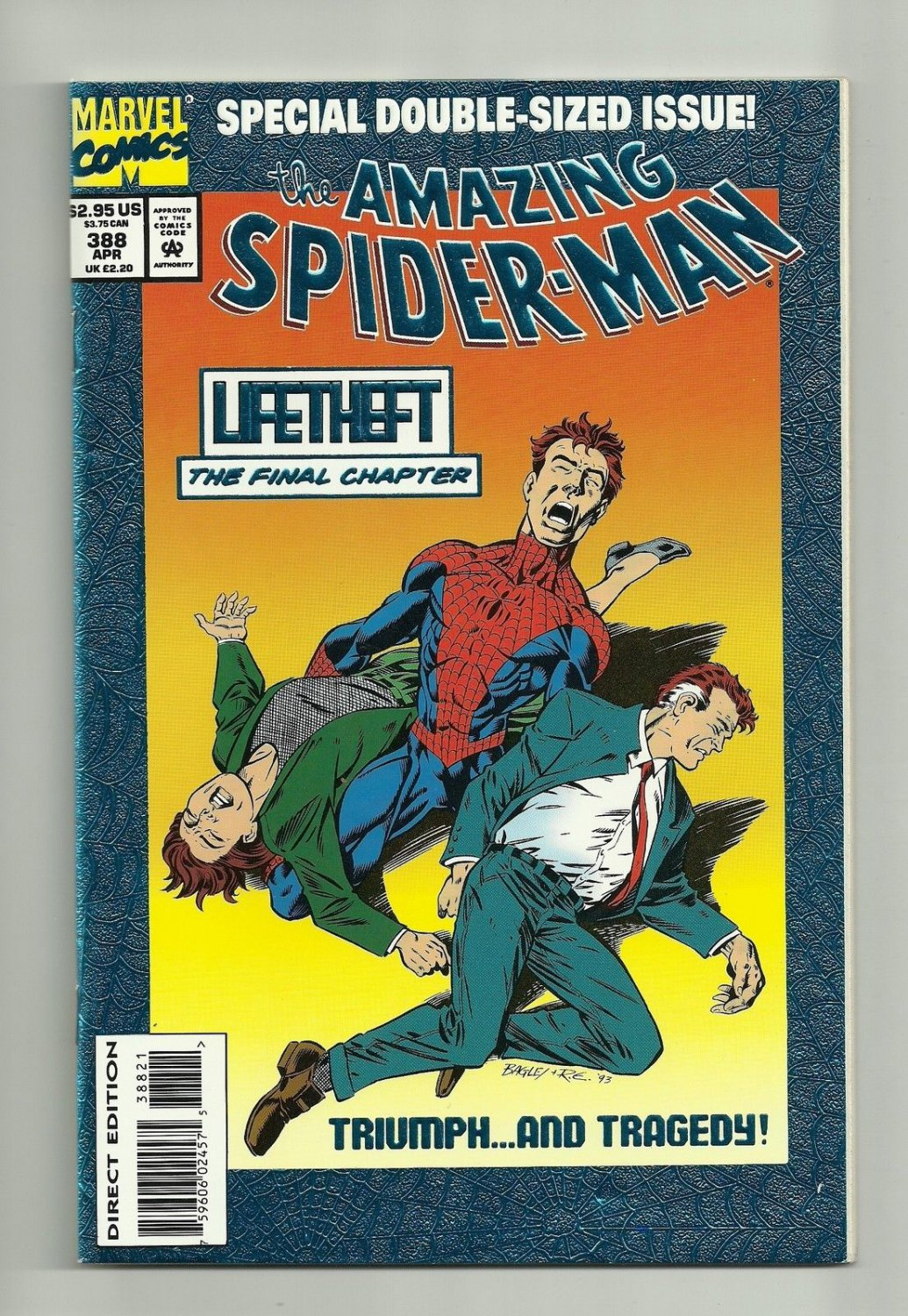 The Amazing Spider-Man #388 (Apr 1994, Marvel)