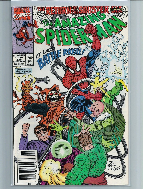 The Amazing Spider-Man #338 (Sep 1990, Marvel)