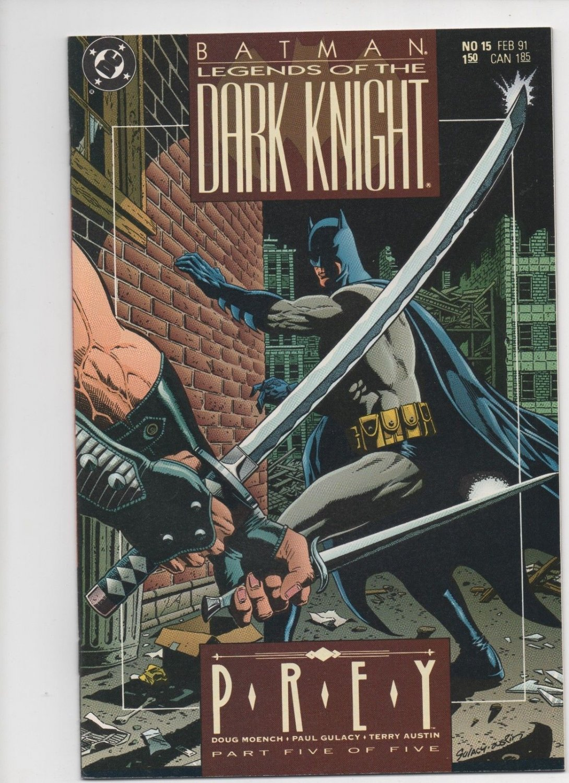 BATMAN: LEGENDS OF THE DARK KNIGHT #15, Prey, 1991