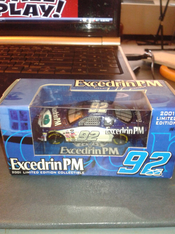 #92 JIMMY JOHNSON Excedrin PM