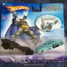 HOT WHEELS DC COMICS BATMAN BATMOBILE VS MR FREEZE