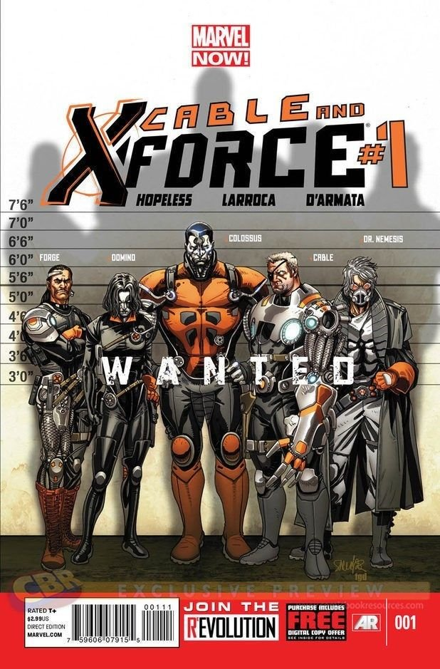 Marvel Comics Cable and the X-Force #1