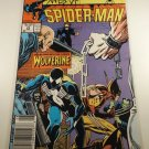 Web of Spiderman #29 Side by Side with Wolverine