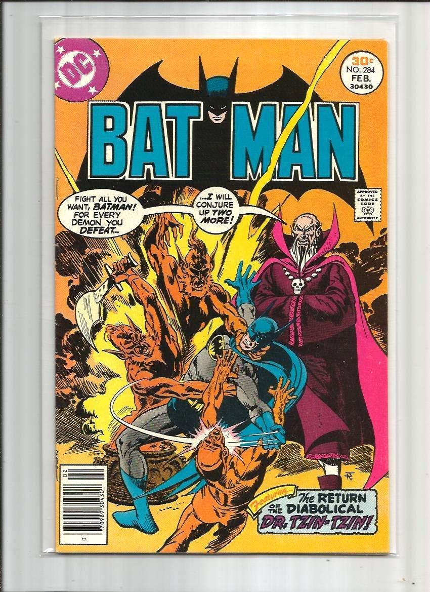 BATMAN #284 DR.TZIN-TZIN