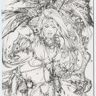 GRIMM FAIRY TALES #42C B&W SKETCH LIMITED TO 500 EBAS ART
