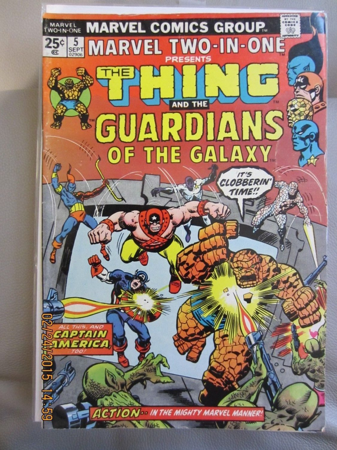 Marvel Two-In-One #5 Guardians of the Galaxy!!