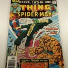 Marvel Two-in-One #17 Thing and Spiderman vs The Basilisk