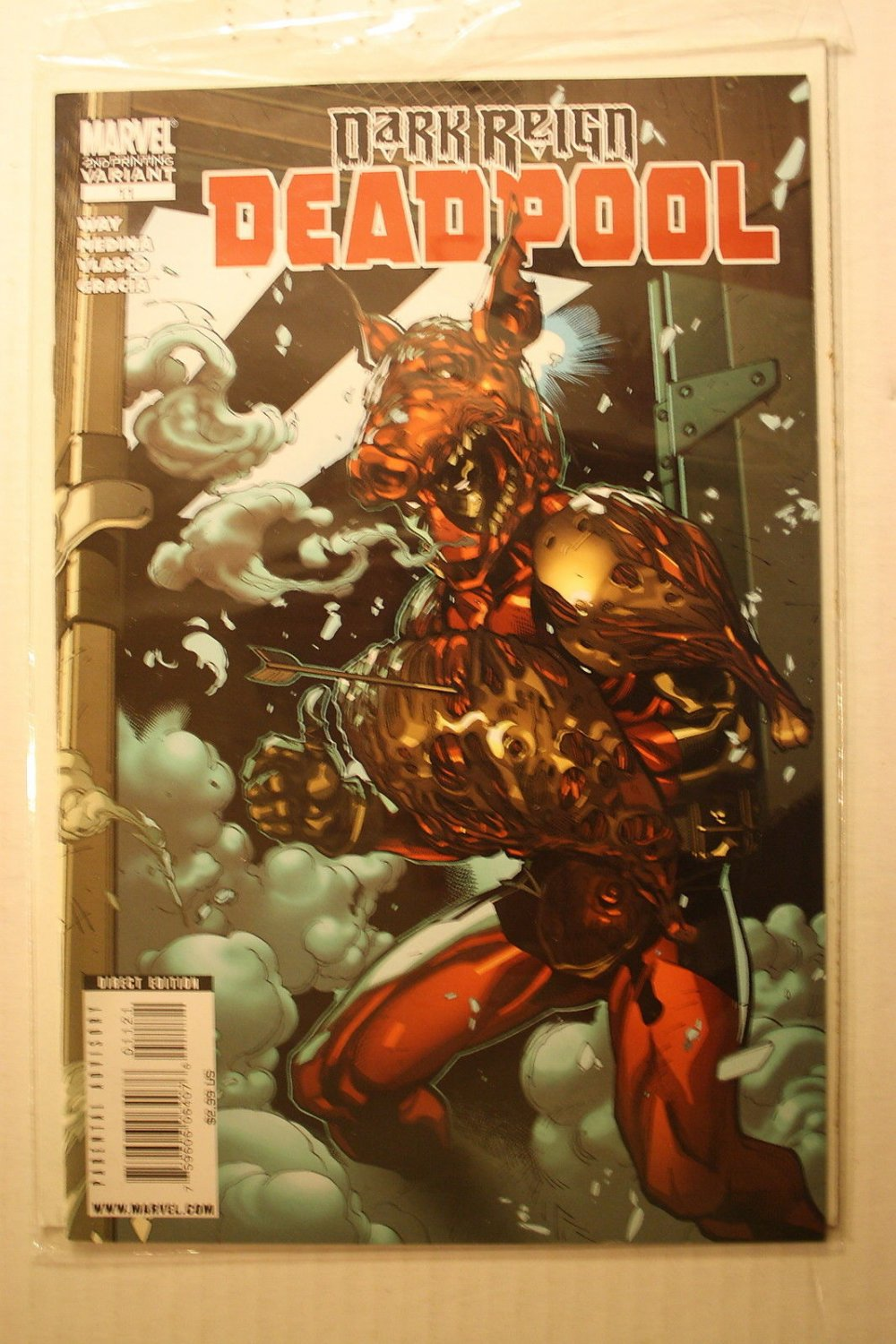 Deadpool #11 2ND PRINTING 2008