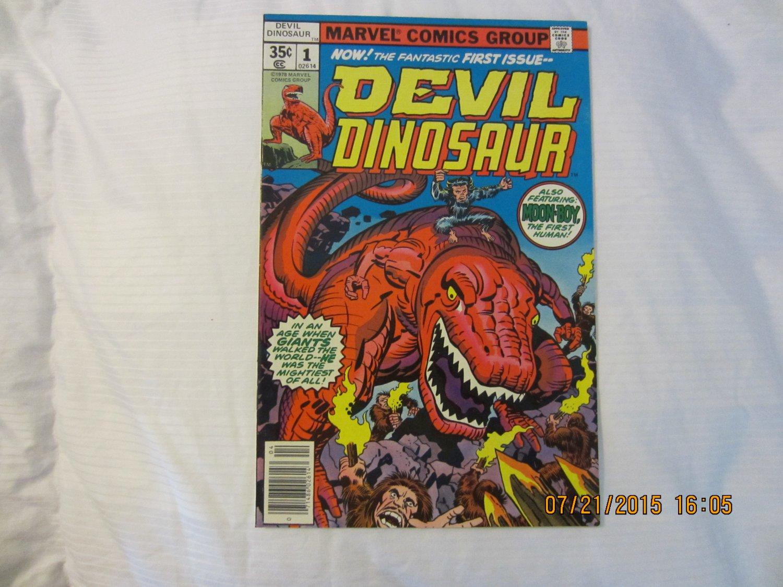 DEVIL DINOSAUR #1 1978