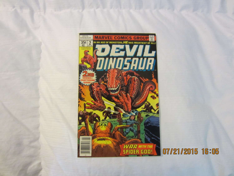 DEVIL DINOSAUR #2 1978