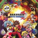 DVD ANIME BAKUGAN BATTLE BRAWLERS Season 1 Vol.1-52End