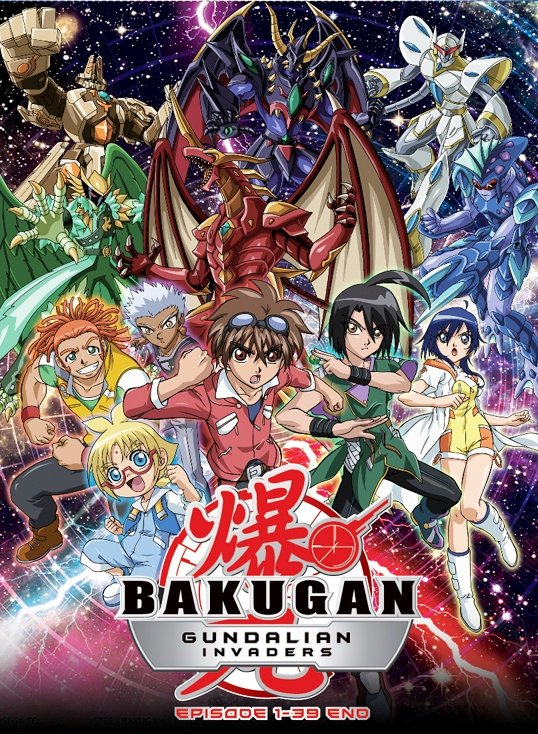 DVD ANIME BAKUGAN BATTLE BRAWLERS Season 3 Bakugan Gundalian Invaders Vol.1-39