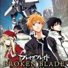DVD ANIME BROKEN BLADE Vol.1-12End TV Series + 6 Movies Break Blade