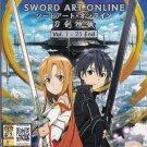 DVD ANIME SWORD ART ONLINE Vol.1-25End + Soundtrack CD