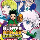 DVD ANIME HUNTER X HUNTER Season 2 (2011) Vol.1-48