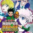 DVD ANIME HUNTER X HUNTER Season 2 (2011) Vol.1-48