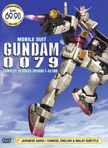 DVD ANIME MOBILE SUIT GUNDAM 0079 Complete TV Series Vol.1-43End Region All