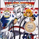 DVD ANIME HEROMAN Vol.1-26End Complete TV Series Region All Free Shipping